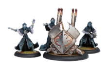 Legion Everblight Scather Weapon Crew (4)